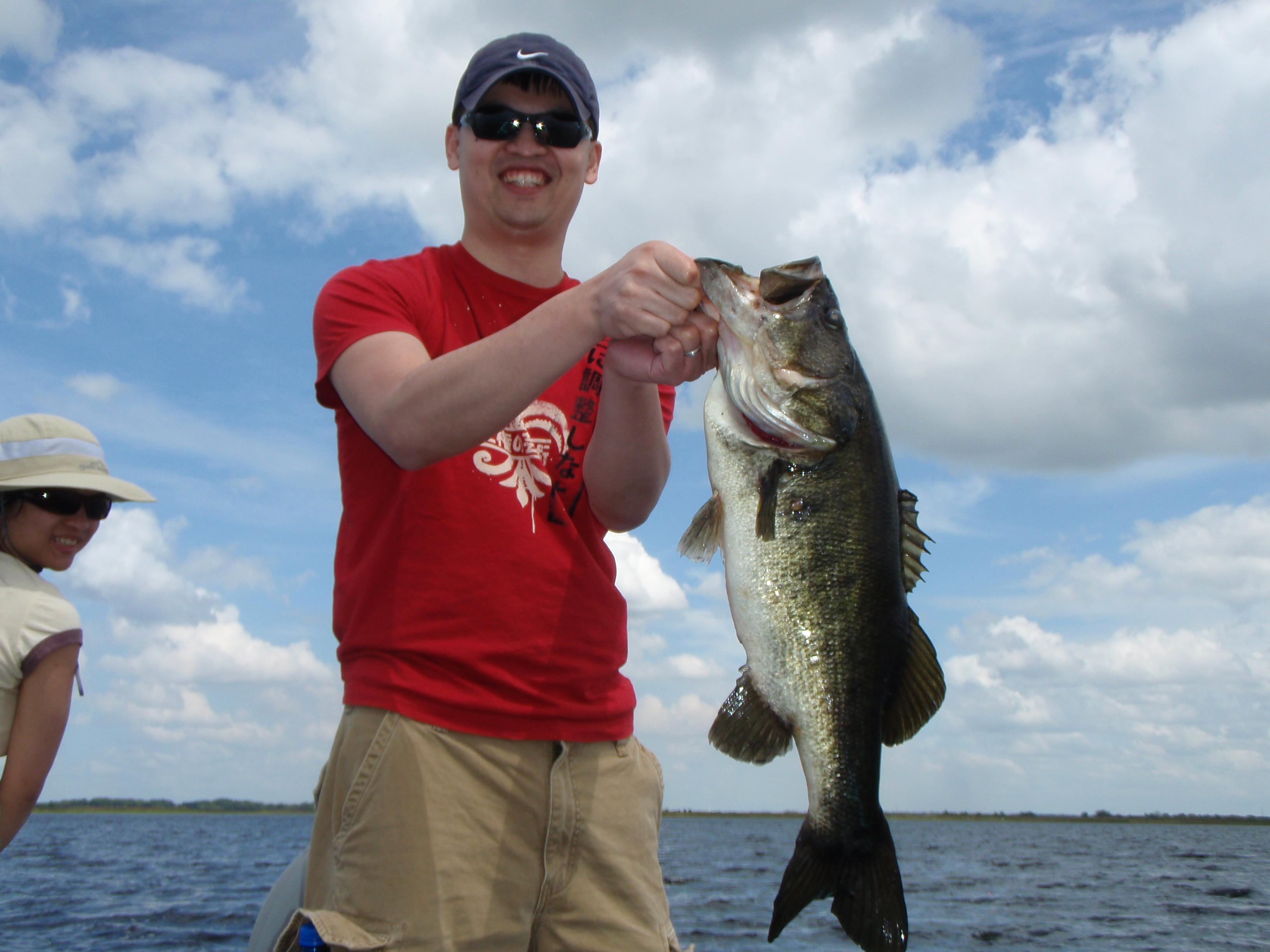 Olympus digital camera orlando bass fishing guides for Bass fishing guides orlando fl