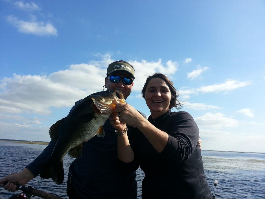 Orlando bass fishing with capt john leech orlando bass for Bass fishing guides orlando fl