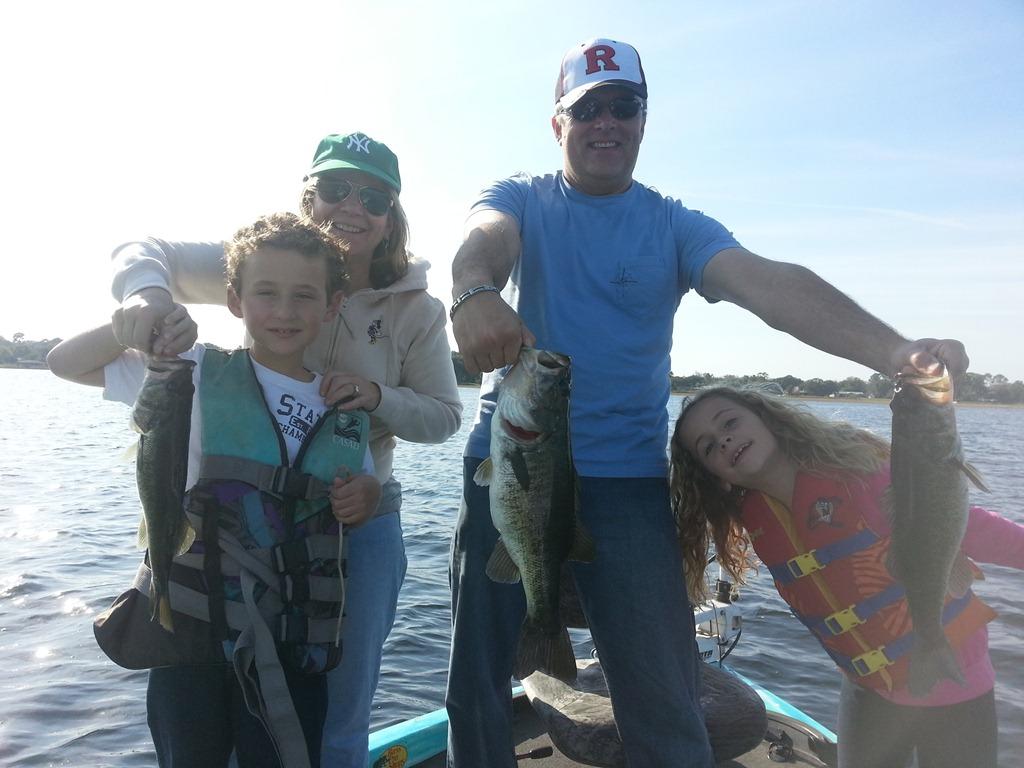 Lake toho bass fishing family orlando bass fishing for Bass fishing disney world